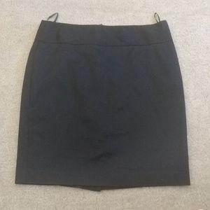 Express black pencil skirt, subtle stripe